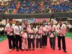 恭喜多媒體設計科 多三忠 林樺翎 榮獲108全國跆拳道草莓盃錦標賽 榮獲第三名