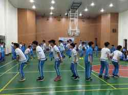 105學年度運動促進健康暨SH150系列活動系列班際十人跳繩比賽活動花絮