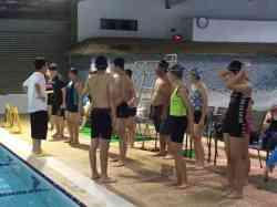 105學年度第二學期游泳自救教學花絮