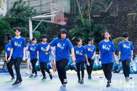 演藝科為籃球隊加油 HBL造勢大會