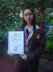 國際技能競賽中華民國39屆全國技藝競賽決賽第三名